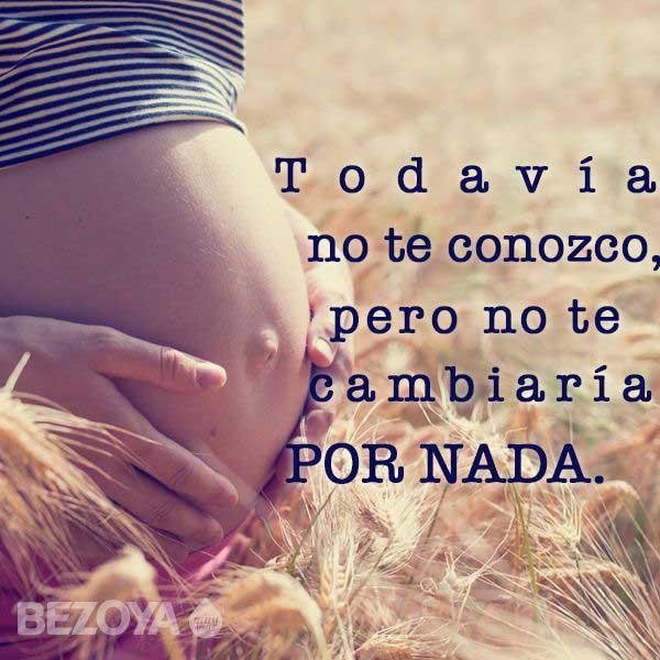 Imágenes De Embarazadas Con Frases Bonitas