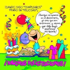 felicitacion para cumpleaños