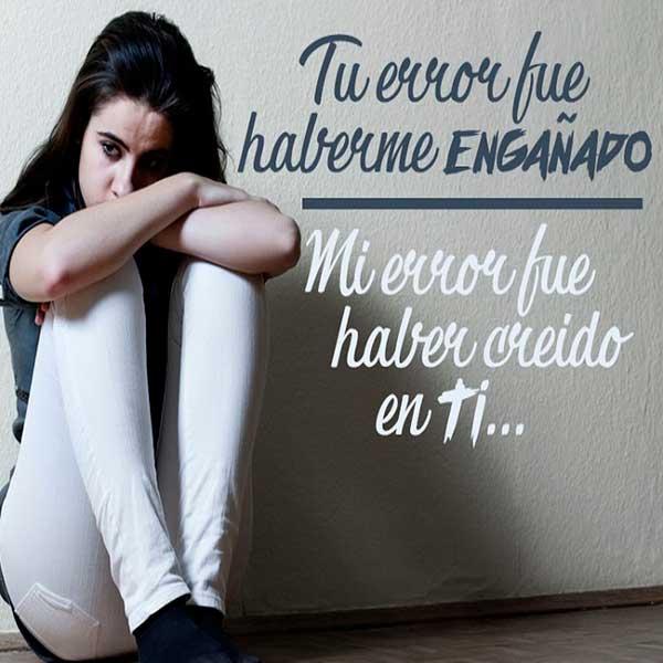 Imagenes De Desamor Frases De Tristeza Decepcion Y Desilusion