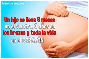 imagenes de mujeres embarazadas con frases