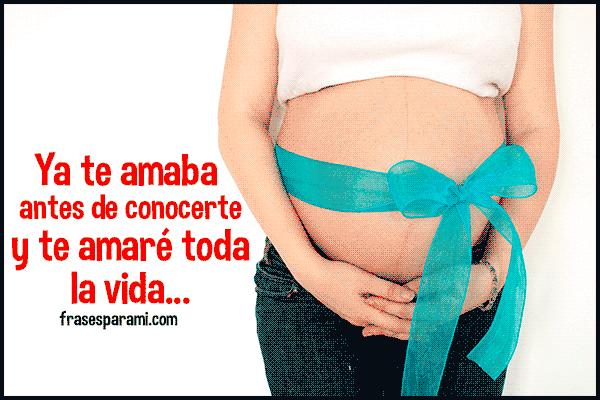 Imagenes De Embarazadas Con Frases Bonitas