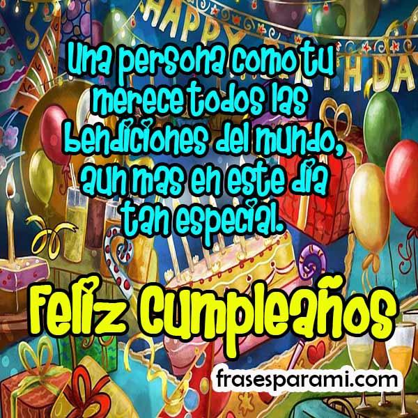 Imagenes de Feliz Cumpleaños » Felicitaciones y Frases