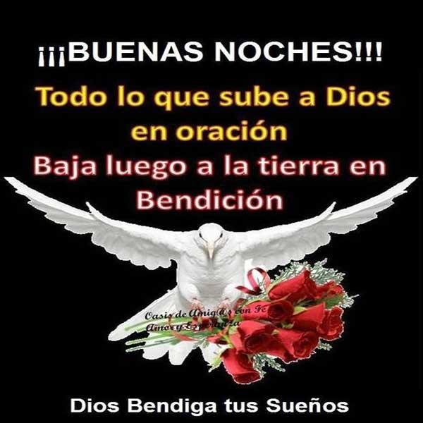 bendiciones de buenas noches