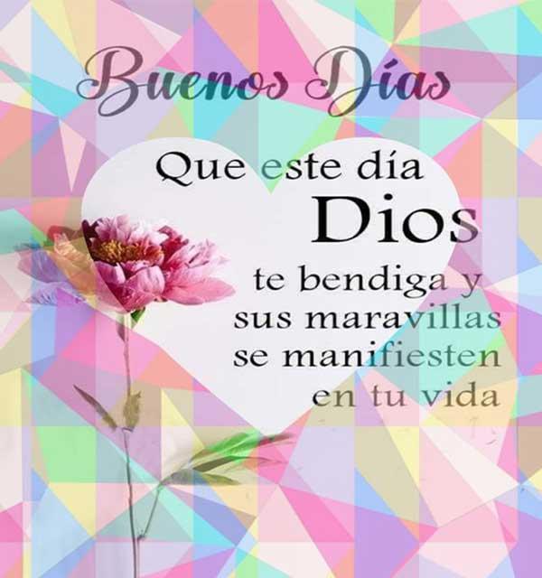buen dia y bendiciones