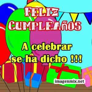 Imágenes De Cumpleaños Feliz Tarjetas Y Felicitaciones