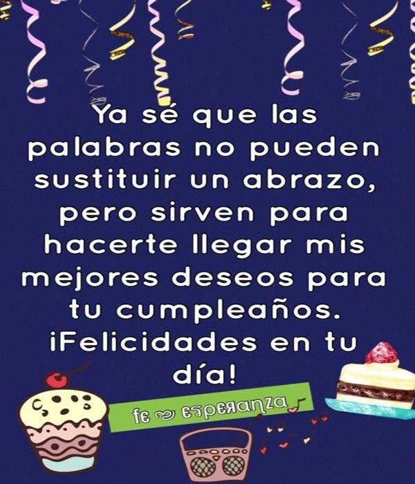 felicitaciones de cumpleaños para enviar por whatsapp