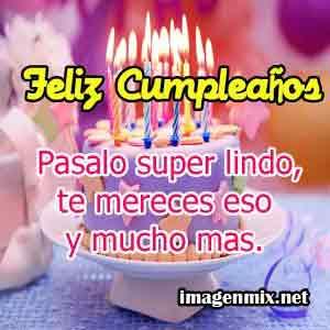 imagen felicitacion de cumpleaños