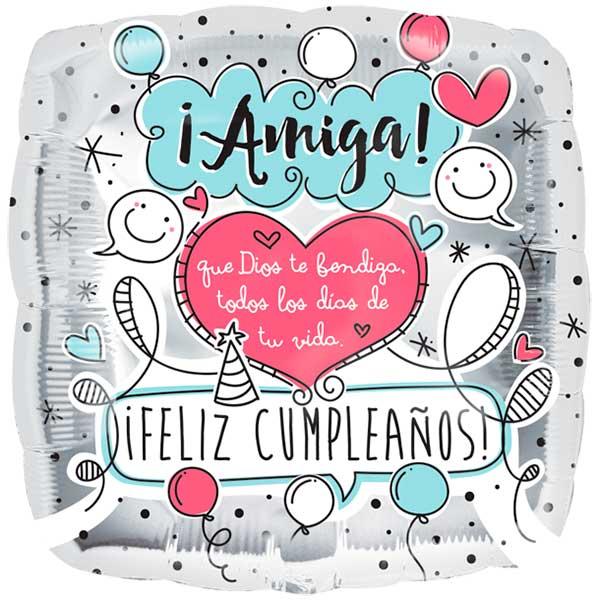 Feliz Cumpleaños Amiga Felicitaciones Para Una Amiga