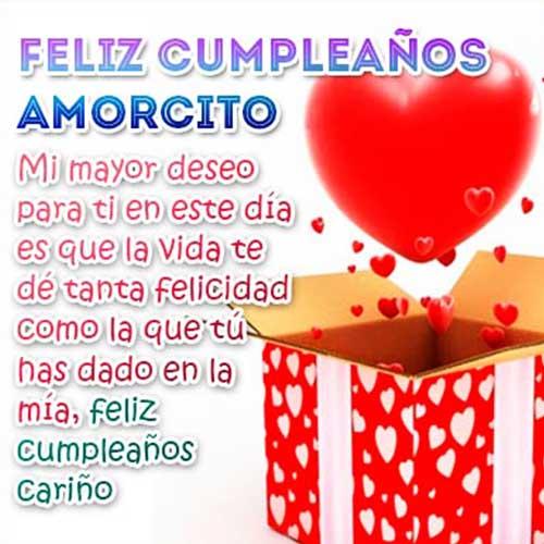 feliz cumpleaños te amo
