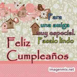 imagen feliz cumpleaños amiga
