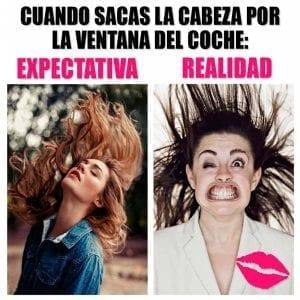 memes expectativa vs realidad