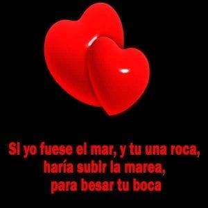 mensajes de amor corazones
