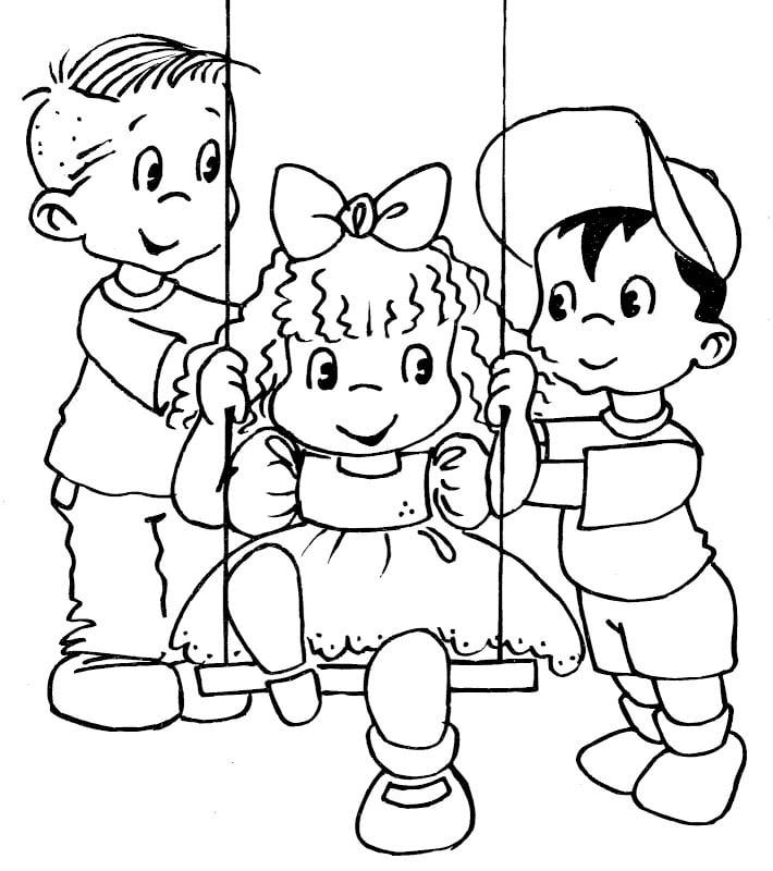 imagenes de amistad para dibujar y pintar