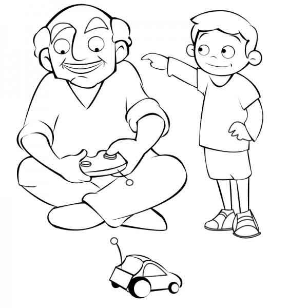 dibujos para el dia del abuelo