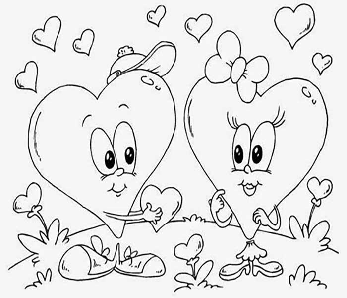 DIBUJOS de Amor Bonitos » Los Mejores DIBUJOS para Colorear