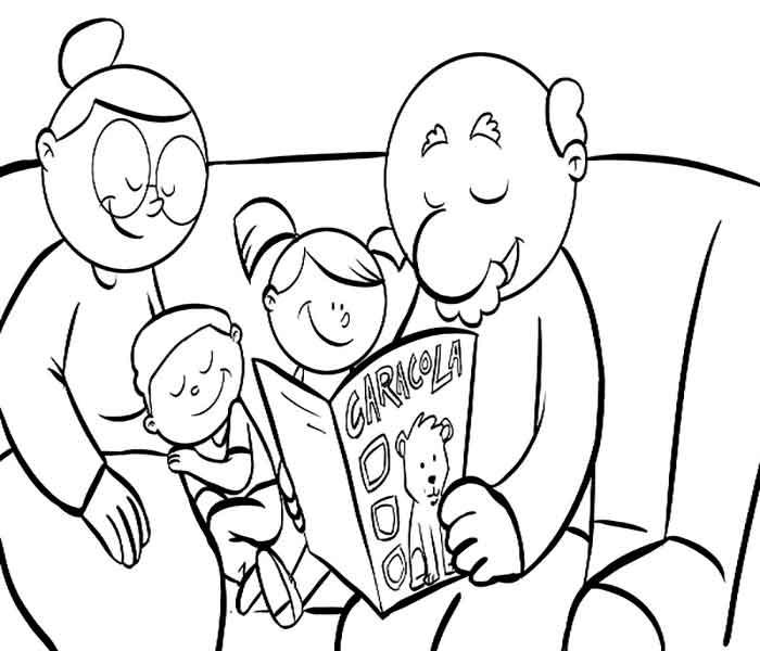 dibujos de abuelos para descargar