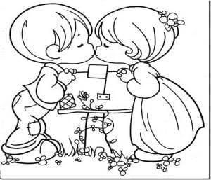 dibujos fáciles de amor