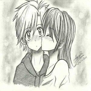 dibujos hermosos de amor