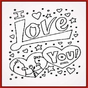 dibujos i love you