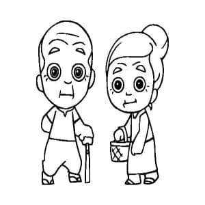 ilustraciones abuelos