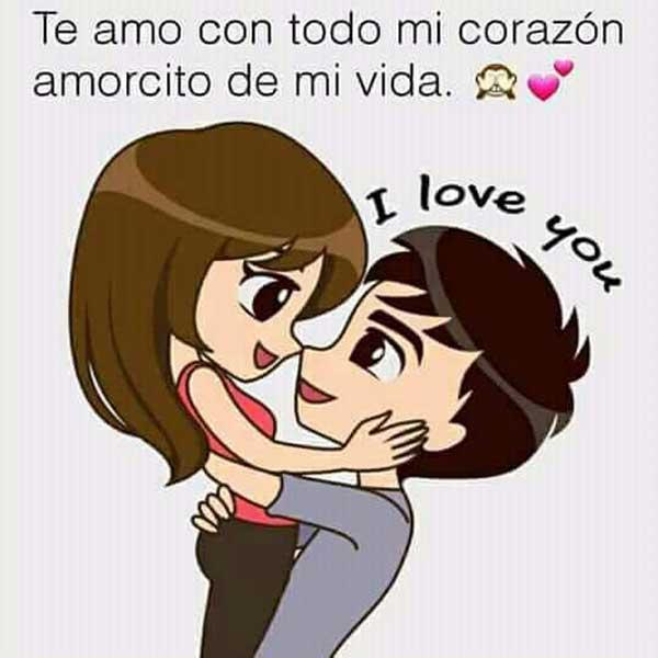 te amo mucho mi vida