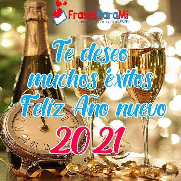 feliz año nuevo 2021 imágenes para saludar