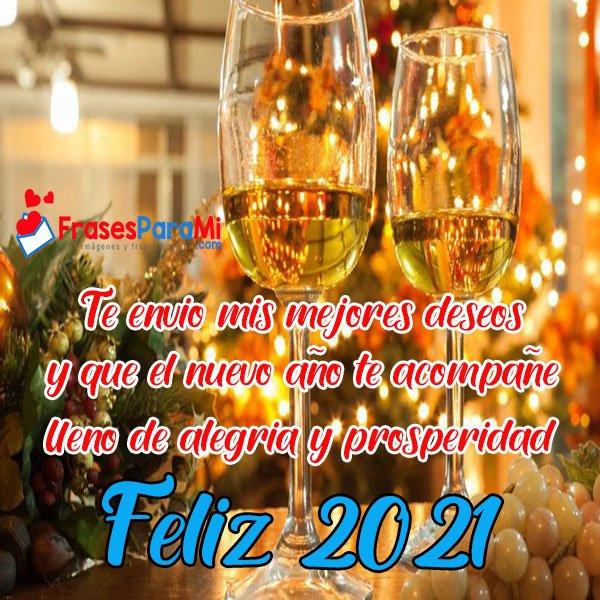 imagenes con frases de feliz año nuevo 2021
