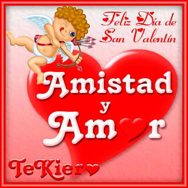 Feliz San Valentín Imágenes Día Del Amor Y La Amistad