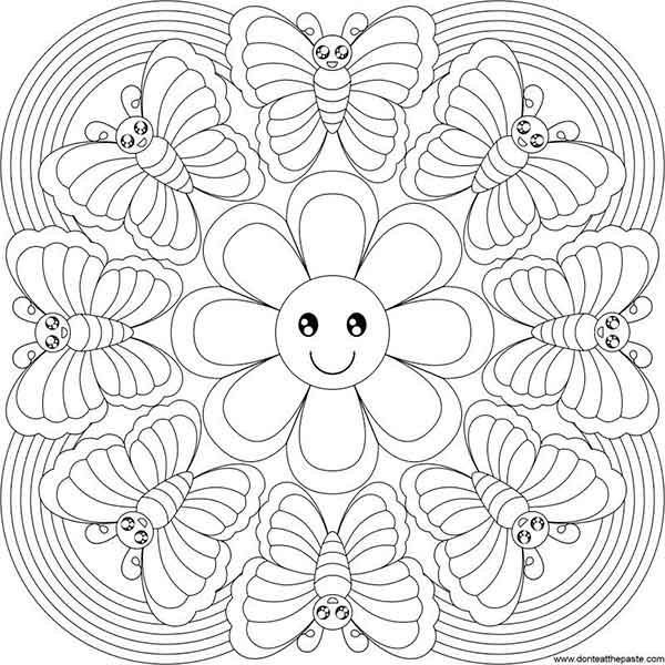 Mandalas Para Colorear Imágenes De Mandalas Bonitas