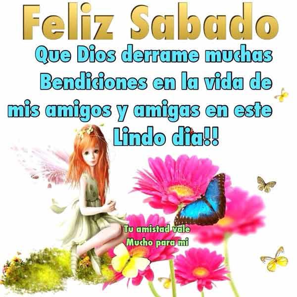 Feliz Sábado Imágenes Y Frases De Bonito Y Feliz Sábado