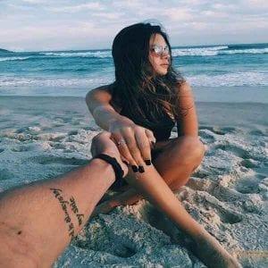 fotos de chicas tumblr en la playa