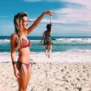 fotos tumblr de chicas en la playa