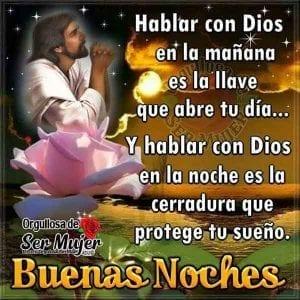 feliz noche dios te bendiga