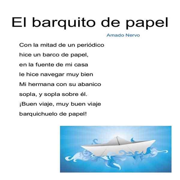 poemas cortos para niños con autor