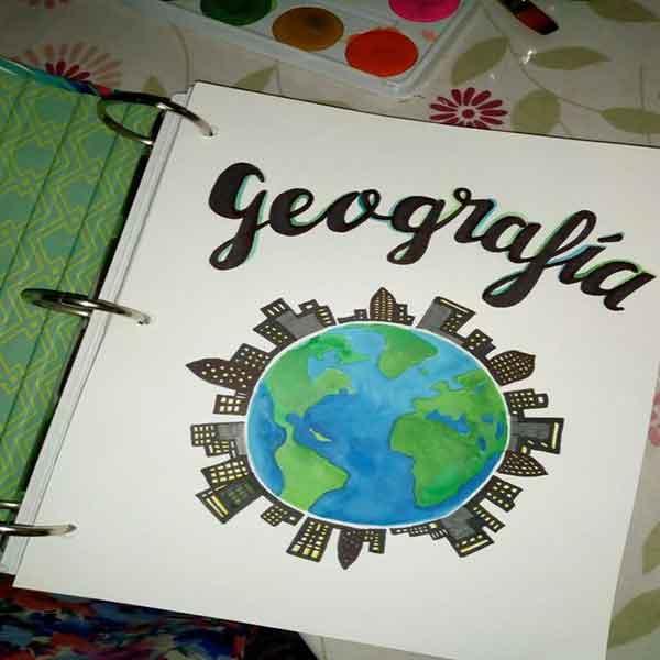 portadas para cuadernos de geografia