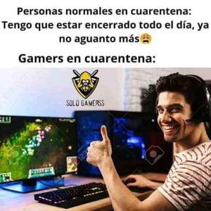 imagenes de cuarentena gamers