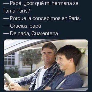 memes de cuarentena chistosos
